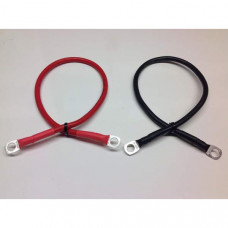 Battery Link Leads 16mm 110amp Cable 1 x Red + 1 x Black (250mm)