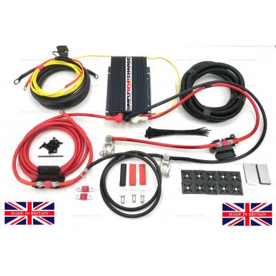 AMC121230 12V 30Amp Smart Alternator / Battery to Battery Charging Kit