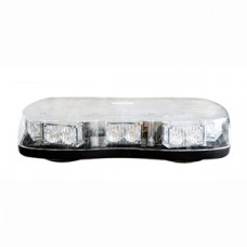 Amber LED Light Bar with Magnetic Fixing - 12/24V