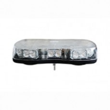 Amber LED Light Bar with Single Bolt Fixing - 12/24V