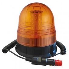 Magnetic Mount Multifunction Amber LED Beacon - 12/24V
