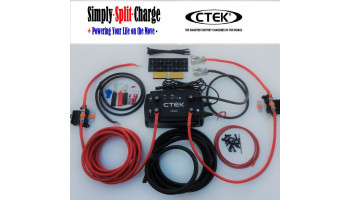 D250SA CTEK 20amp Charger Kits with pre made leads