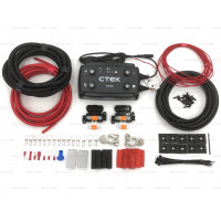 CTEK D250SE 12V 20amp Dual DC-DC Battery to Battery Charger Kit with 70amp 10mm² Cable