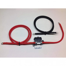 1mtr Inverter Wiring Kit Ready Made Leads (16mm 110amp Cable)