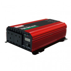 Durite 1500W 12V DC to 230V AC Compact Pure Sine Wave Voltage Inverter 085716