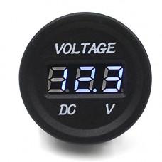12V Voltage Indicator Voltmeter Blue LED display