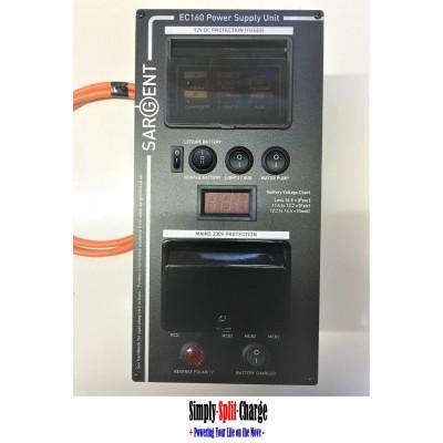 Sargent EC160V Management System 240V / 12V Hook up System + Battery Charger