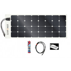 Sunpower 100w Flexible Solar Panel Systems XX WITHOUT REGULATOR XXX