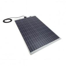 PV Logic 100 watt semi flex solar panel White