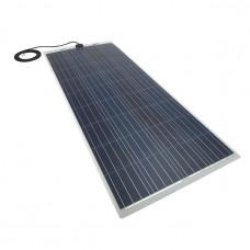 PV Logic 150 watt semi flex solar panel White