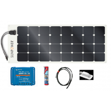 Sunpower 110w Flexible Solar Panel Systems with Victron MPPT