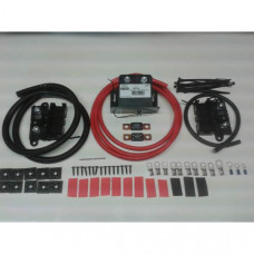 1mtr Heavy Duty Split Charge Kit with 12V Cargo 180amp VSR + 170amp 25mm2 Cable
