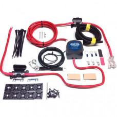 3m Ready Made Split Charge Relay Kit 12v 140 AMP VSR 110a 16m² Lead T4 T5 Camper