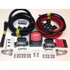 9mtr Heavy Duty Split Charge Kit with 24V Durite 140amp VSR + 110amp 16mm2 Cable