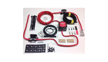 Heavy Duty Twin Battery Durite 12v 140amp Voltage Sense Kits