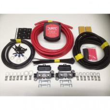 1mtr Medium Duty Split Charge Kit with 12V Durite 140amp VSR + 70amp 10mm2 Cable