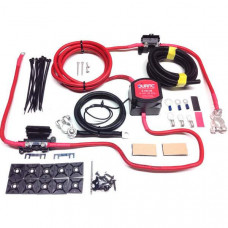 1mtr Heavy Duty Split Charge Kit with 12V Durite 140amp VSR + 110amp Ready Made Leads