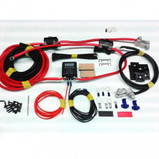 1mtr Heavy Duty Split Charge Kit with 100amp Heavy Duty Relay + 110amp Ready Made Leads
