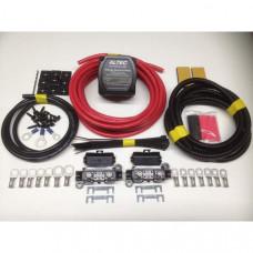 4mtr Medium Duty Split Charge Kit 12V M-Power 140amp VSR + 70amp 10mm2 Cable