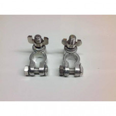 8mm Post Type Battery Terminals with Wing Nut