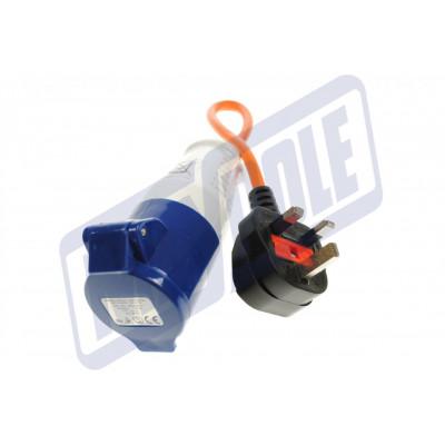 Caravan 240v to UK 13amp Plug