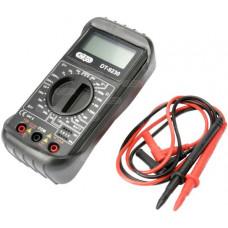 Digital LCD Multimeter Voltmeter Ammeter OHM AC DC Circuit Tester Buzzer